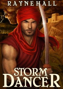 STORM DANCER dark epic fantasy RayneHall cover 2013-01-30