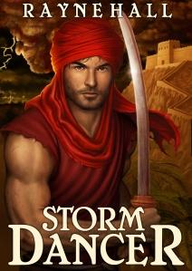 STORM DANCER dark epic fantasy RayneHall cover 2013-01-30