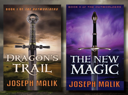 Joseph Malik - Outworlders banner